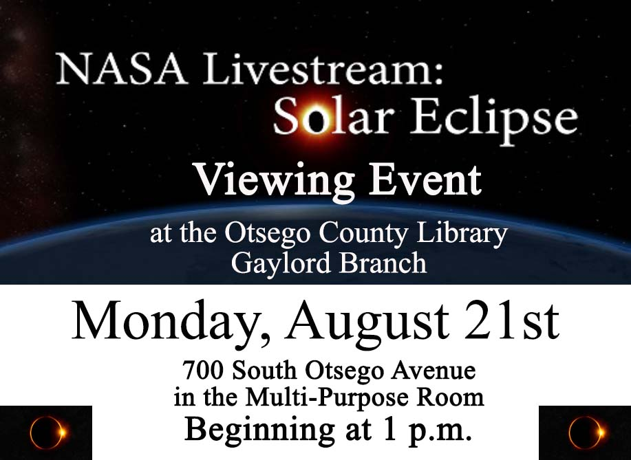 Watch the Live Stream of the Eclipse.
