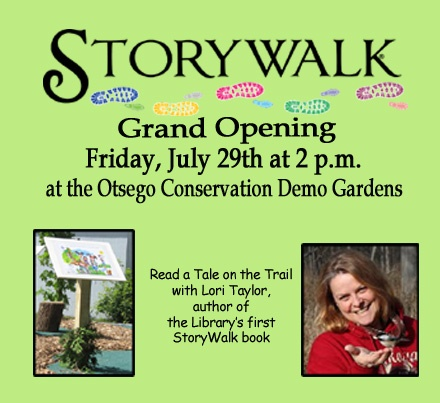 Join us for the Story Walk Premier Friday July 29!