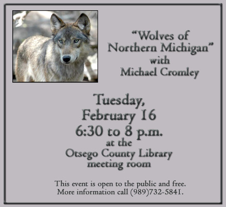 Wolves of Northern Michigan with Michael Cromley